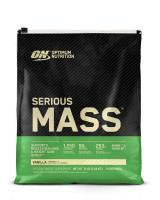 Гейнер Optimum nutrition Serious Mass, ваниль, 5450 г