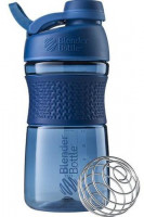 Шейкер Blender Bottle SportMixer Twist Cap Full Color, нави, 591 мл