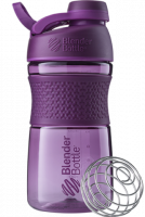Шейкер Blender Bottle SportMixer Twist Cap Full Color, сливовый, 591 мл