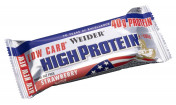Батончики Weider 40 % Low carb high protein bar 50 г.