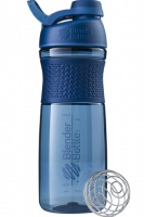 Шейкер Blender Bottle SportMixer Twist Cap Full Color, нави, 828 мл
