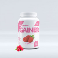 Гейнер Cybermass Gainer, малина, 1500 г