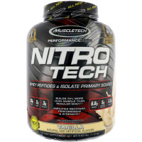 Протеин Muscletech Nitro tech Perfomance Series, ваниль, 1800 г