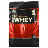 Протеин Optimum nutrition 100% Whey Gold Standard protein, молочный шоколад, 4540 г