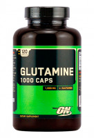 Глютамин Optimum nutrition Glutamine caps 120 капс.
