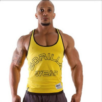 Майка Gorilla Wear Logo Stringer Yellow арт. 90231