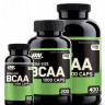 BCAA Optimum nutrition BCAA 1000 200 капс.