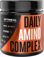 Аминокислоты Optimeal Daily Amino Complex, ананас - персик, 210 г
