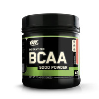 BCAA Optimum nutrition BCAA 5000 Powder, фруктовый пунш, 380 г