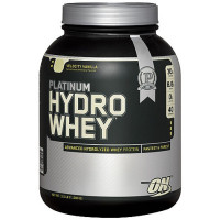 Протеин Optimum nutrition Platinum Hydro Whey, ваниль, 1590 г