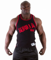 Майка Gorilla wear Stamina Black/Red