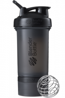 Шейкер Blender Bottle ProStak Full Color, черный, 650 мл