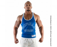 Майка Gorilla Wear Logo Stringer Blue арт. 90231