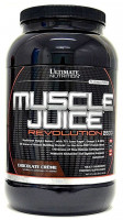 Гейнер Ultimate nutrition Muscle Juice Revolution, шоколад, 2120 г