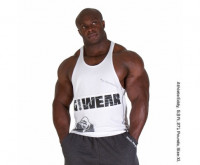 Майка Gorilla Wear G!WEAR Stringer white