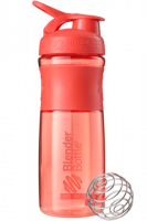 Шейкер Blender Bottle SportMixer, коралловый, 828 мл