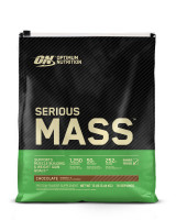 Гейнер Optimum nutrition Serious Mass, шоколад, 5450 г