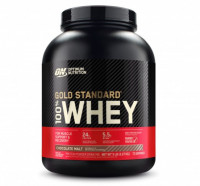 Протеин Optimum Nutrition 100% Whey Gold Standard, шоколад - солод, 2,27 кг