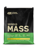 Гейнер Optimum nutrition Serious Mass, банан, 5450 г